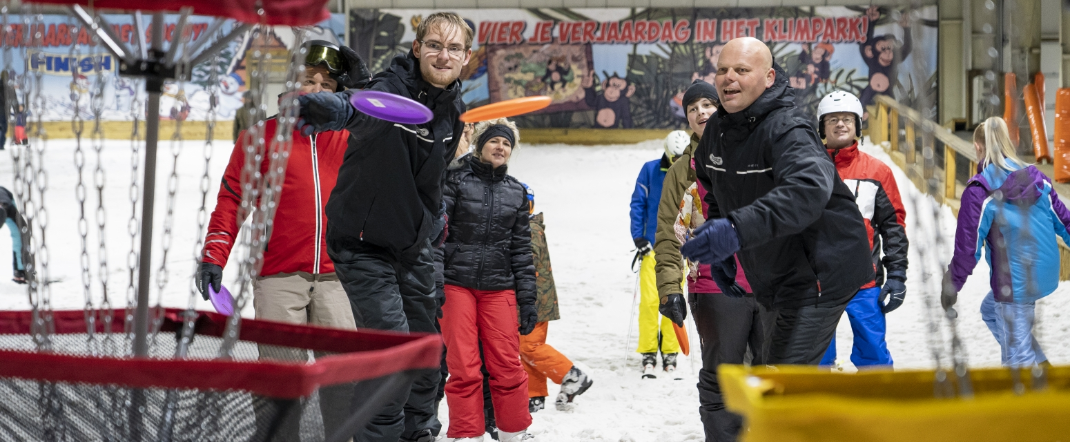 Teambuilding & fun SnowWorld