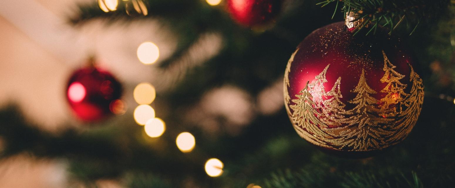 kerst kerstbal boom