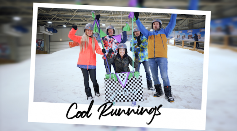 Cool Runnings team slee